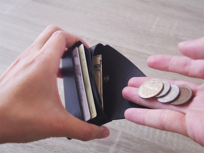 LEMUR財布_小銭を入れる