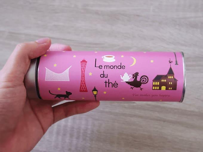 Le monde du the (ル モンド・デュ テ)_ピンクのパッケージ