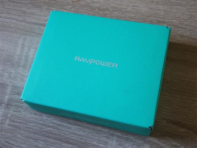 RAVPowerモバイルバッテリー_パッケージ