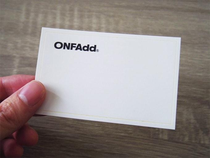 ONFAdd-FLAT-WALLET_付属のステッカー