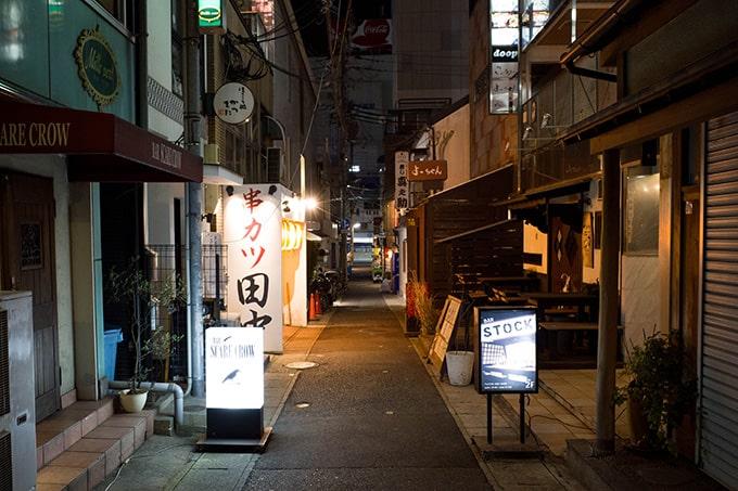 RICOH GR III(GR3)スナップ写真_飲食店街