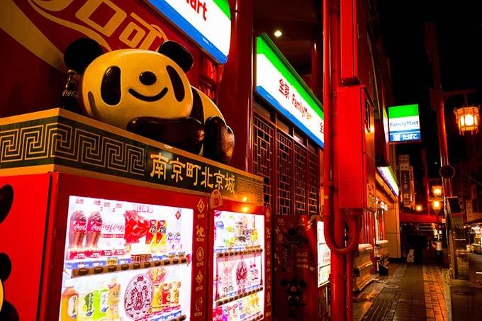 神戸フォトウォーク20190330_中華街パンダ