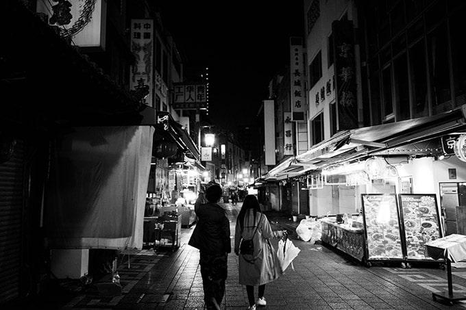 神戸フォトウォーク20190330_モノクロ中華街