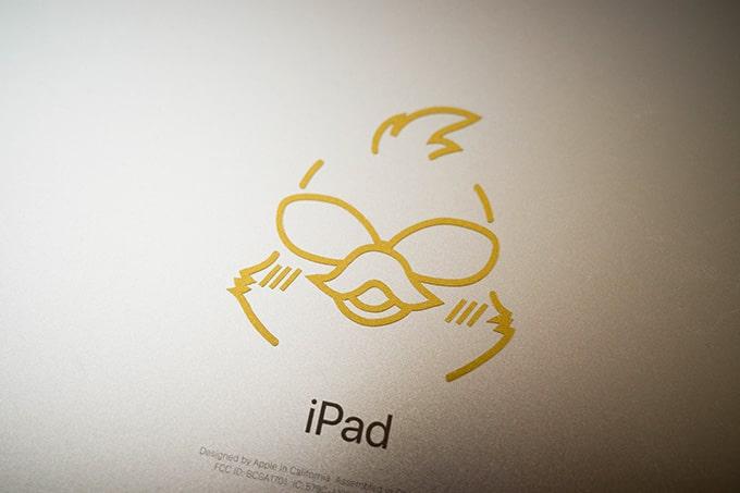 カッティングシート(QUACKWORKS)_iPadに貼る
