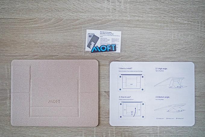 MOFTノートPCスタンド_セット内容