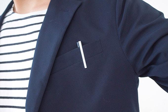 LAMY logo(ラミー ロゴ)_ジャケットの胸ポケットに入れて