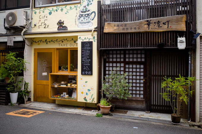 GRIII(GR3)中崎町フォトウォーク_レトロなカフェ
