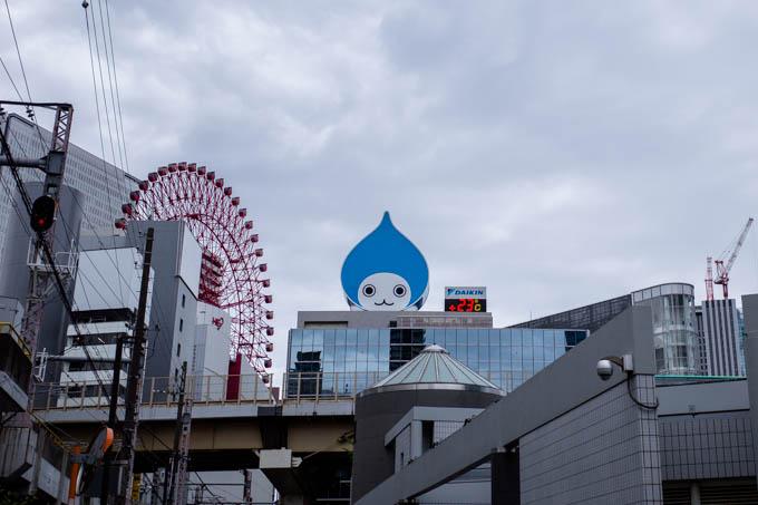 GRIII(GR3)中崎町フォトウォーク_ぴちょんくん