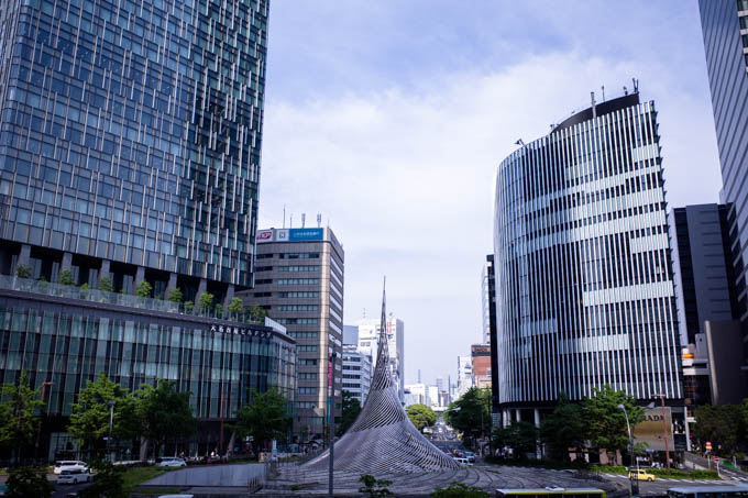 GRIII(GR3)名古屋駅周辺フォトウォーク_昼の名古屋の風景