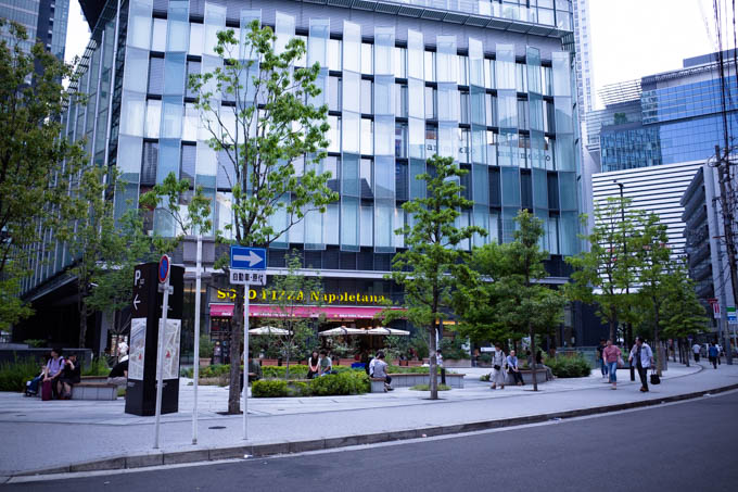 GRIII(GR3)名古屋駅周辺フォトウォーク_昼のイセタンハウス
