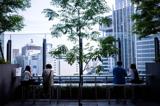 GRIII(GR3)名古屋駅周辺フォトウォーク_イセタンハウス屋上庭園