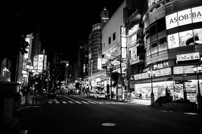 GRIII(GR3)ハイコントラスト白黒作例_三宮