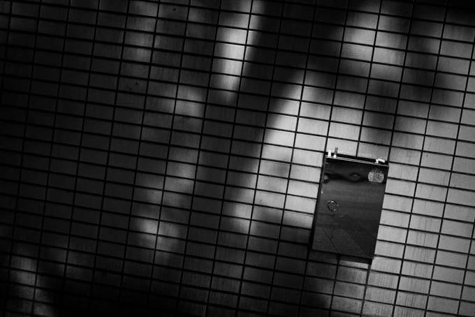 GRIII(GR3)ハイコントラスト白黒作例_不気味な木の影