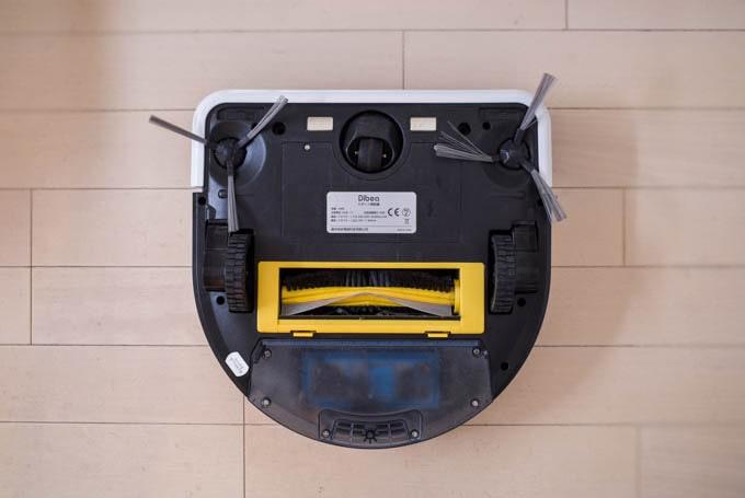 Dibea-D960ロボット掃除機_本体裏側