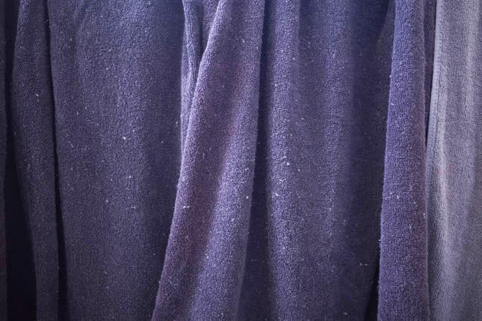 8年タオル_バスタオルの1回目の洗濯後