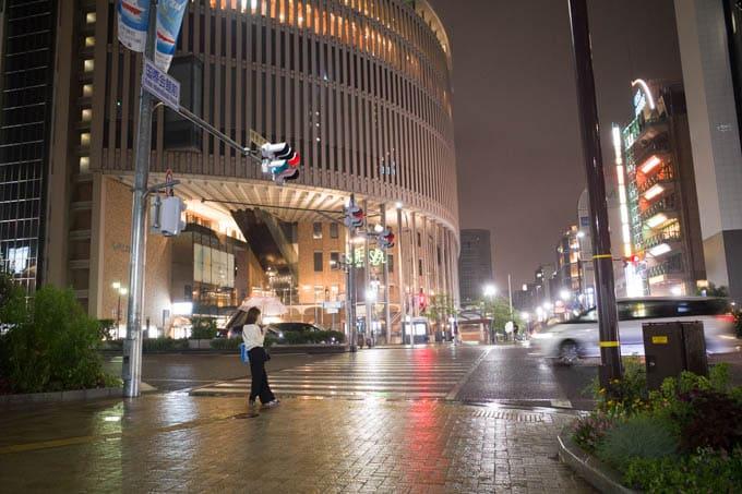 GRIII(GR3)レトロモード作例_神戸国際会館前(通常モード撮影)
