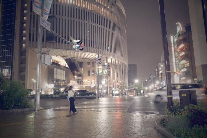 GRIII(GR3)レトロモード作例_神戸国際会館前