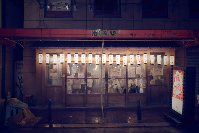 GRIII(GR3)レトロモード作例_居酒屋