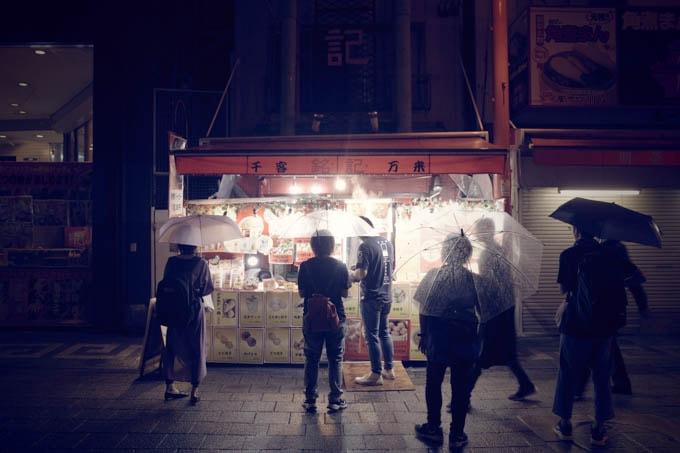 GRIII(GR3)レトロモード作例_中華街のお店