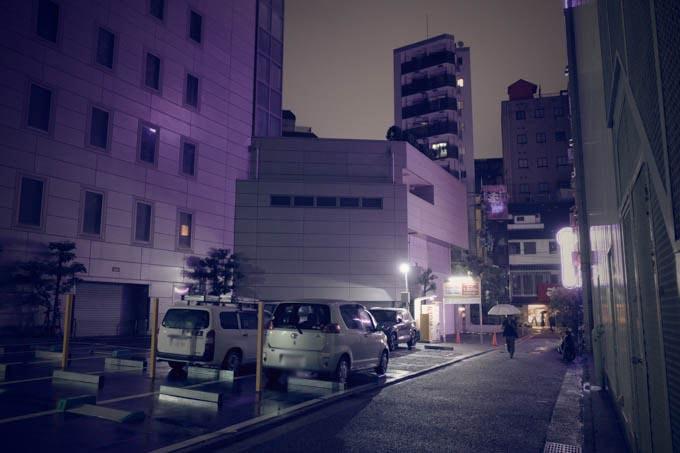GRIII(GR3)レトロモード作例_歓楽街