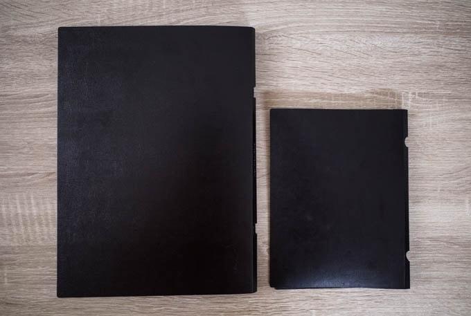 HINGE PRO(ヒンジプロ)_A4とA5のサイズ比較
