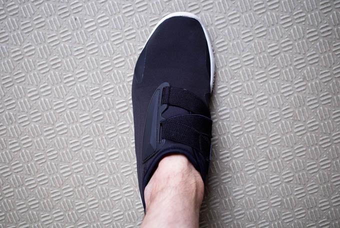 無印良品フットカバー_スニーカーから靴下が飛び出さない1