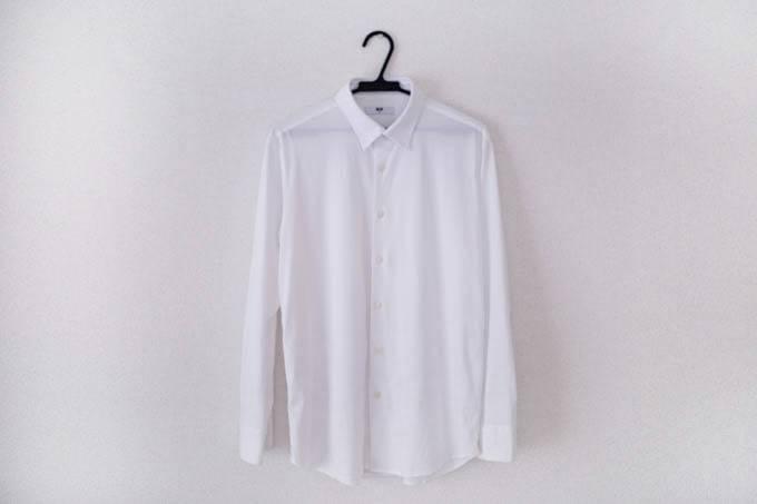 ユニクロ イージーケアジャージーシャツ_全体のデザイン