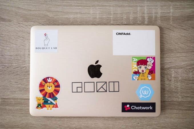 MacBook12インチ表面