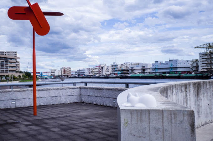 NekoCup(ネコカップ)_兵庫県立美術館で写真
