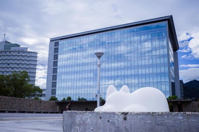 NekoCup(ネコカップ)_近代建築との写真