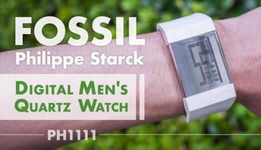 【FOSSIL Philippe Starck PH1111】スタルクデザインの腕時計!バングル風でファッショナブルなアイテム。