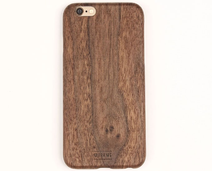 Walnut Hard Wood Case for Iphone 6 / 6s / 7 / 8 / X / plus
