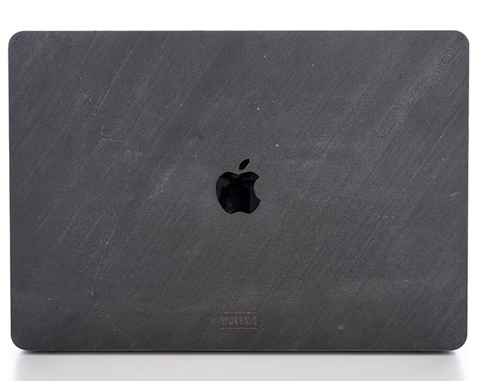 WOODWE_Macbook Stone Cover - Dark Black