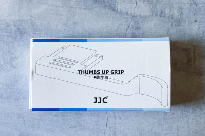 GRⅢ(GR3)サムグリップ_JJC-TA-GR3パッケージ