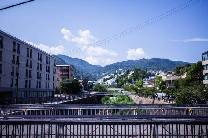 ヨドコウ迎賓館(旧山邑家住宅)_芦屋駅からの景色