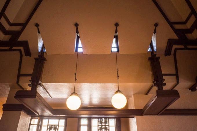 ヨドコウ迎賓館(旧山邑家住宅)_天井装飾