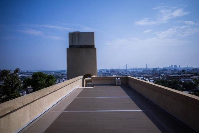 ヨドコウ迎賓館(旧山邑家住宅)_屋上からの景色04