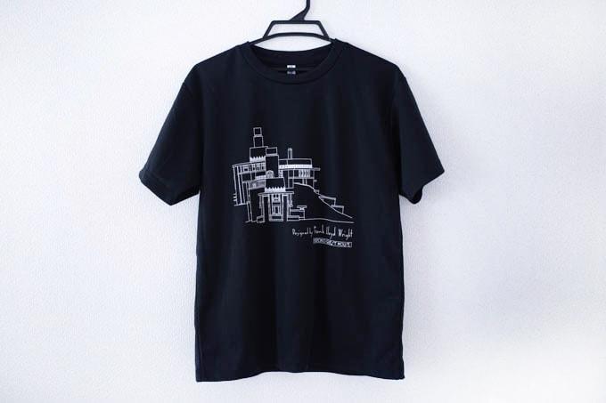ヨドコウ迎賓館Tシャツ_全体のデザイン