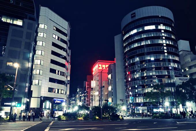 GRIII(GR3)クロスプロセス作例_三宮の街並み