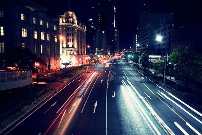 GRIII(GR3)クロスプロセス作例_夜の道路を見下ろす1