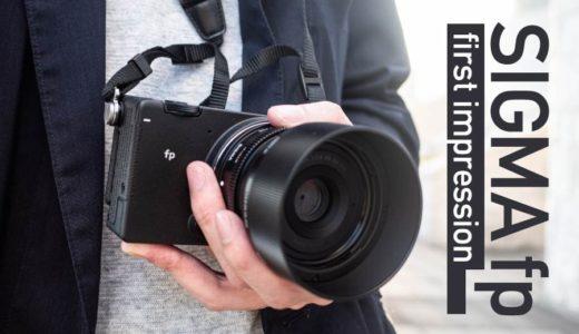 【SIGMA fp(シグマエフピー) レビュー】写真と動画の作例をブログ記事に!神戸の街で試し撮りしてきました。