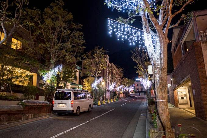 SIGMA fp(シグマエフピー)-神戸北野写真(夜)_クリスマスイルミ01