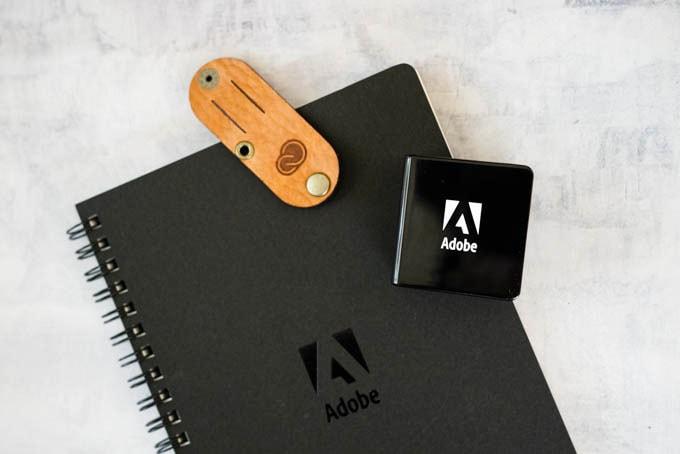 Adobe(アドビ)ノベルティグッズ3種