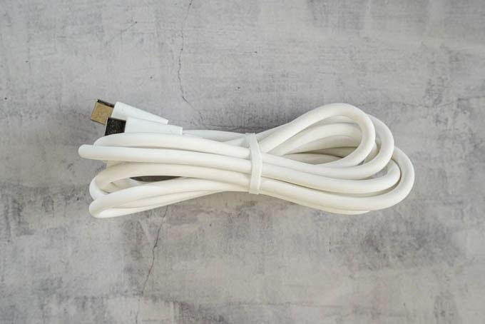 SlimQ-65W-PD充電器_付属充電ケーブル