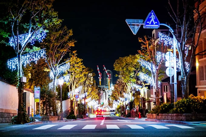 SIGMA fp(シグマエフピー)-神戸北野写真(夜)_クリスマスイルミ02