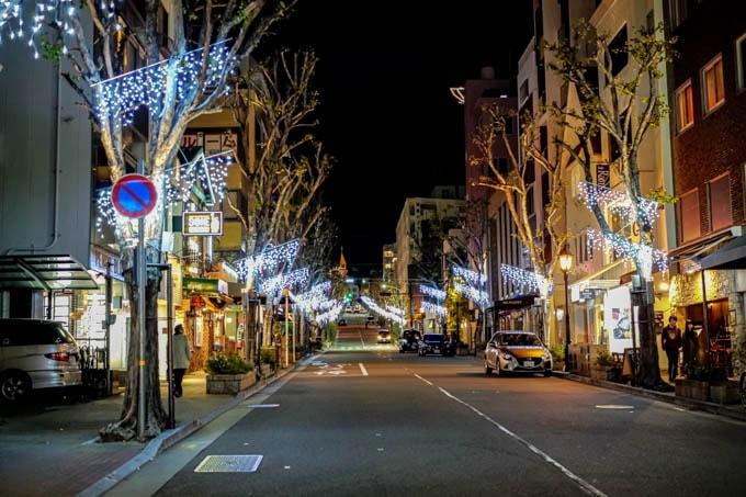 SIGMA fp(シグマエフピー)-神戸北野写真(夜)_クリスマスイルミ05