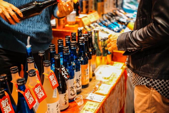 SIGMAfpティールオレンジin京都_錦市場商店街の売り物4
