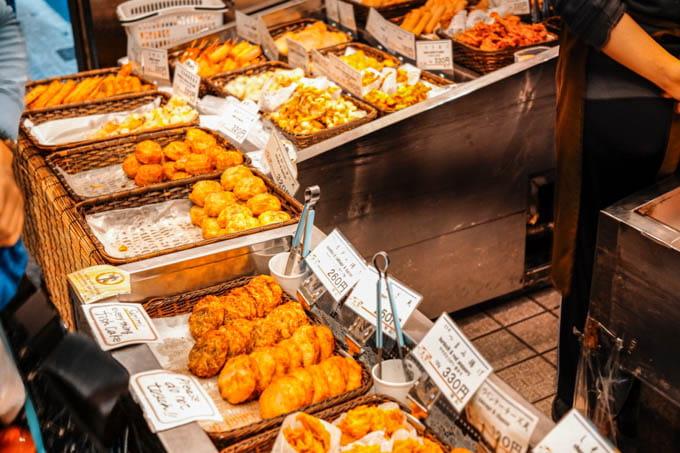 SIGMAfpティールオレンジin京都_錦市場商店街の売り物5