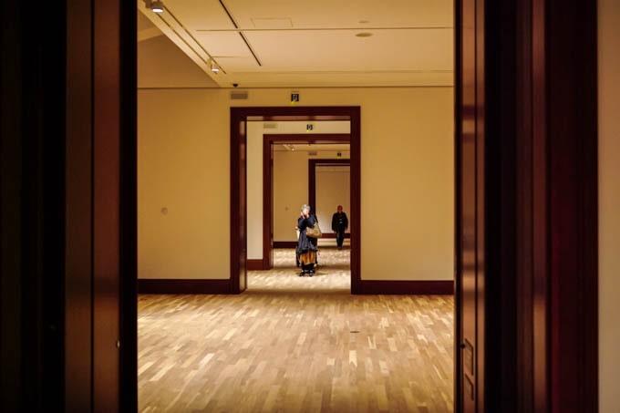 京都市京セラ美術館_展示室を眺める