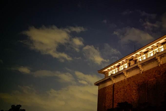 京都市京セラ美術館_夜の外観